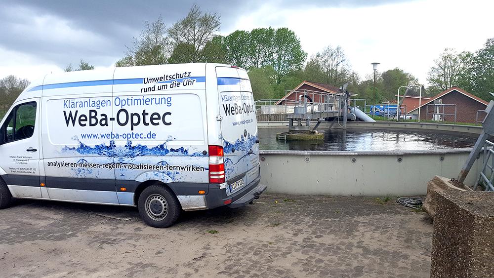 WeBa-Optec - Umweltschutz rund um die Uhr - Servicefahrzeug