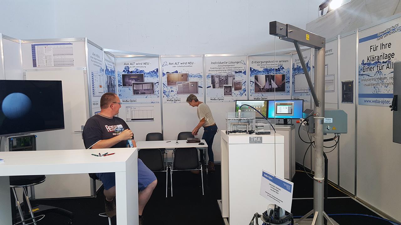 WEBA-OPTEC: IFAT - 14. - 18. Mai 2018 - Messe München - Hallo C1, Stand 114 (Bild 01)