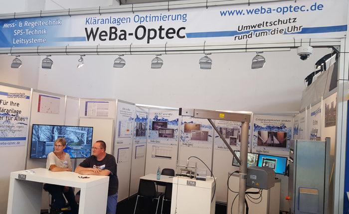 WEBA-OPTEC: IFAT - 14. - 18. Mai 2018 - Messe München - Hallo C1, Stand 114 (Bild 03)
