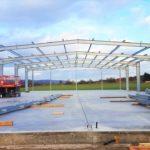 Aufbau Stahlträger - Bild 5