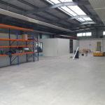 Schlosserei und Elektrowerkstatt bereit einzuziehen